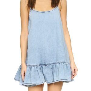 NWT One Teaspoon Blue Powder Pinkie Dress